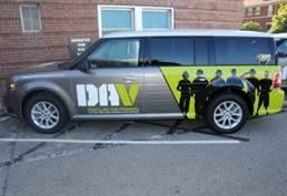 DAV transportation vehicle