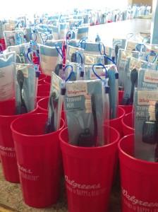 Sea of Walgreens cups