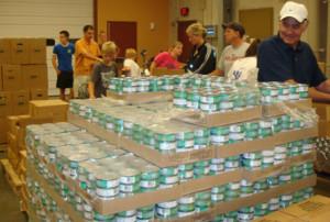food sorting at CFBEOK